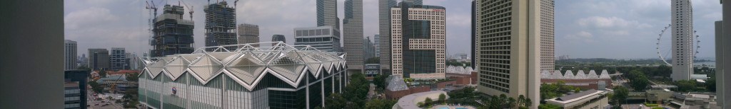 Panoramic View from Marina Mandarin Room