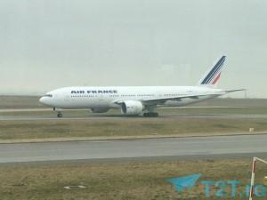 Boeing 777-200 Air France pe Aeroportul Charles de Gaulle Paris