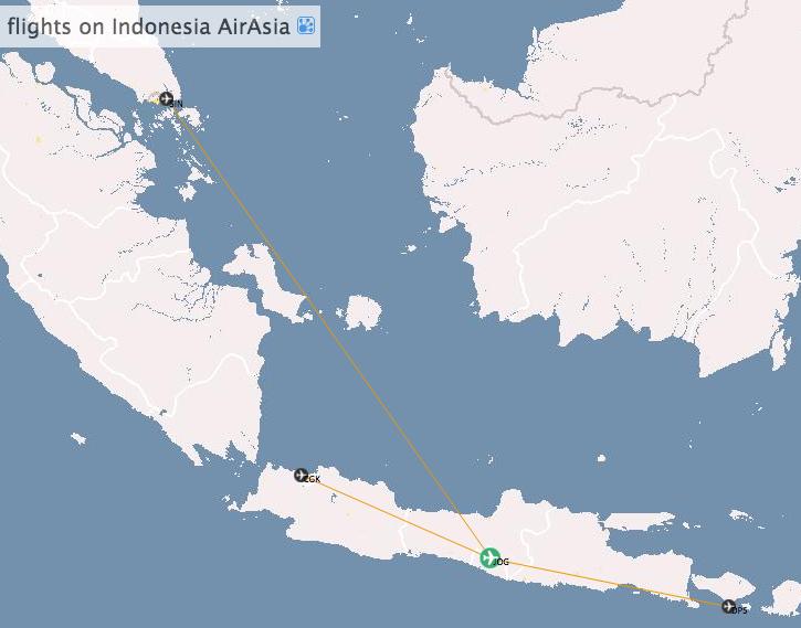 Zboruri cu Indonesia AirAsia