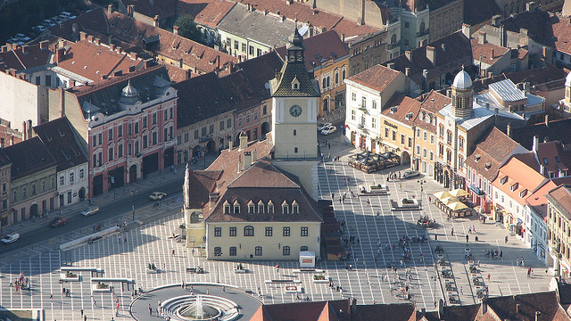 """Brasov, Romania - """"Brasov - The old City Hall ( History Museum in present )"""" by Cristian Bortes"""