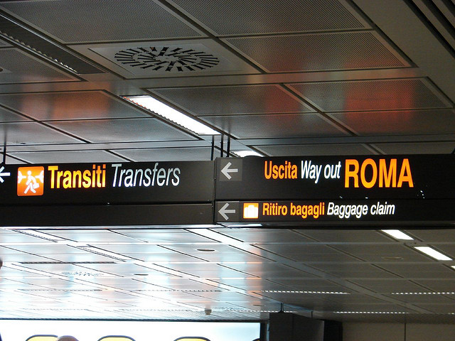 """Fiumicino Airport, Rome"" by Hector Sanchez"