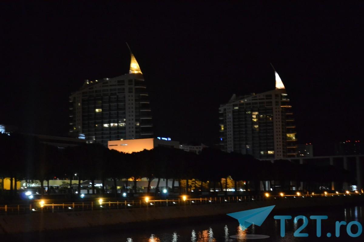Zona Oriente - Noaptea - Clădirile Gemene din Lisabona