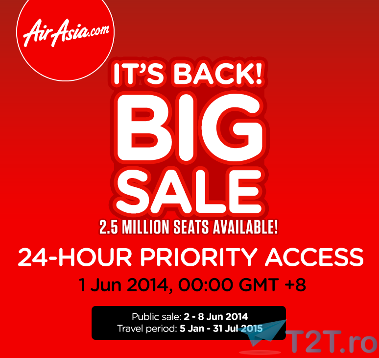 big sale air asia