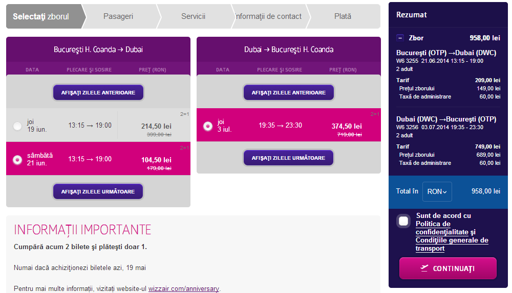 dubai wizz air