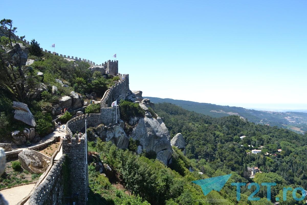 Castelul maurilor langa Sintra