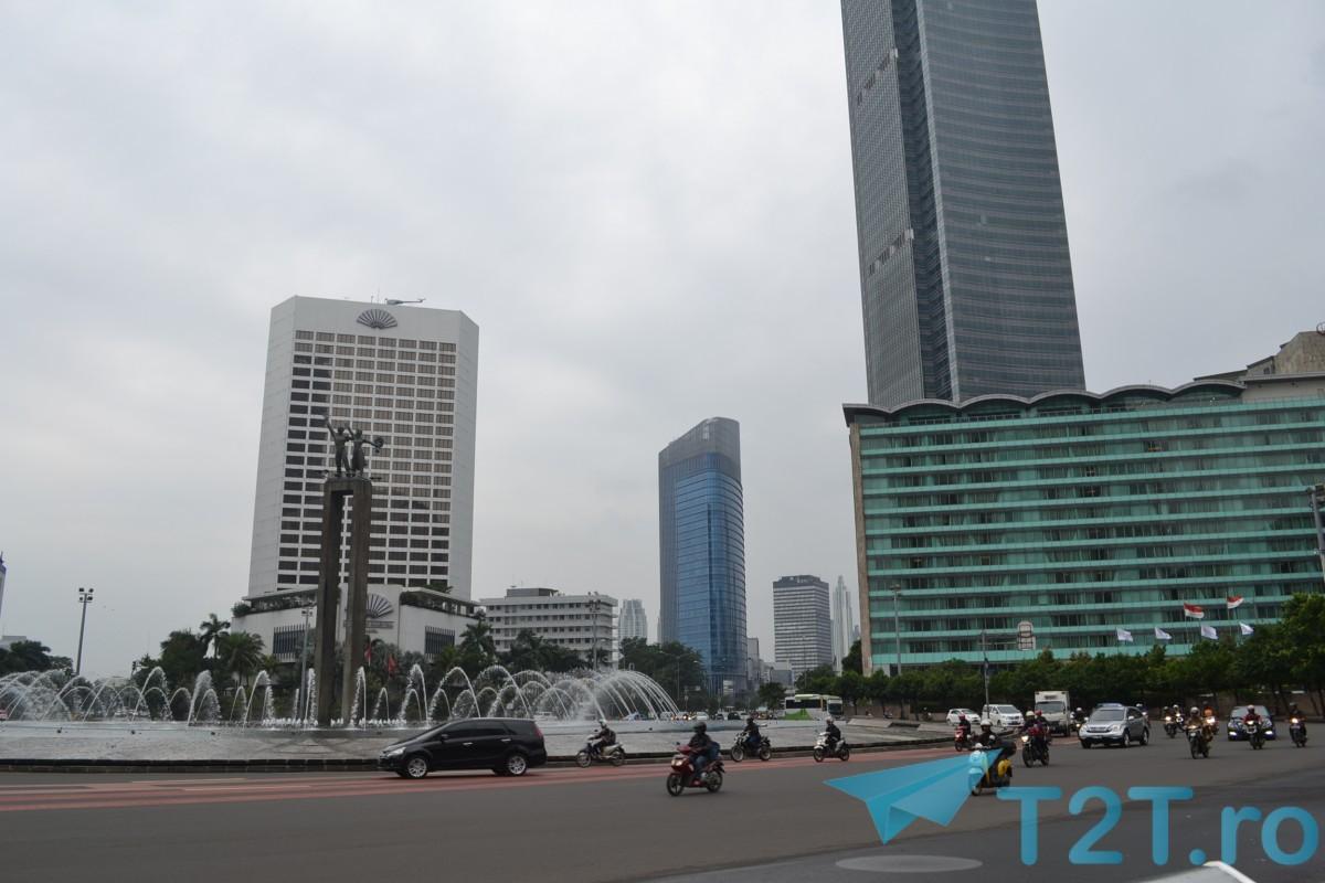 Jakarta Roundabout Plaza Indonesia