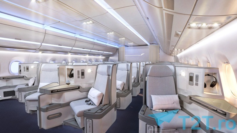 business class finnair a350