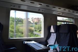 Interior tren Frecciabianca Milano - Roma