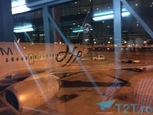 TAROM aterizeaza la Terminalul 1 al Aeroportul El Prat din Barcelona