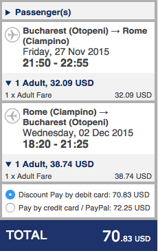 Roma Ryanair