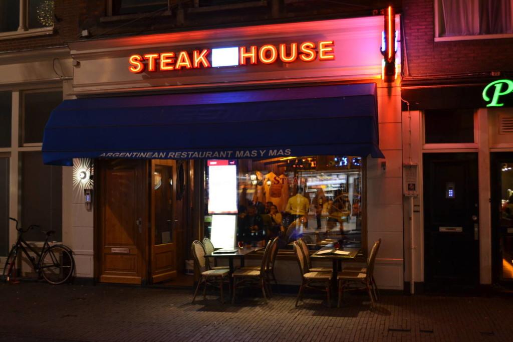 Restaurant Argentinian Mas y mas Amsterdam