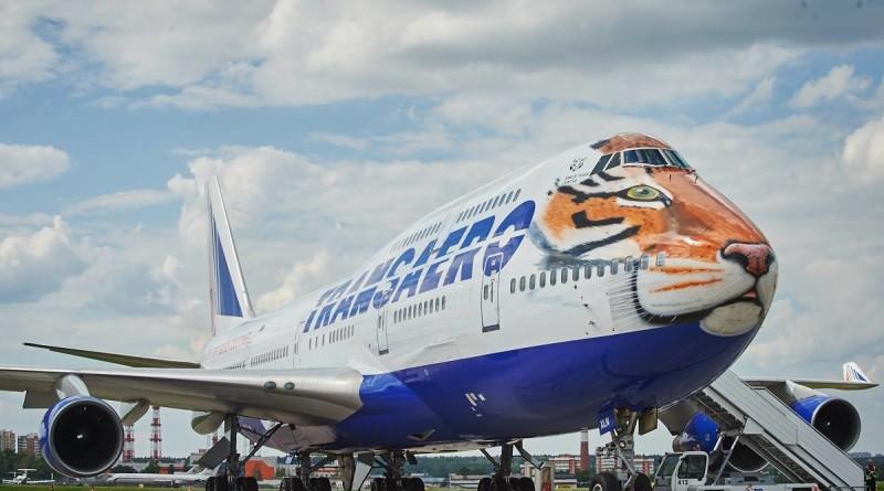 Transaero Boeing 747-400