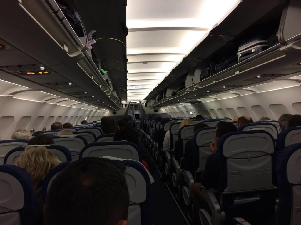 TAROM YR-ASD Airbus A318 Scaune