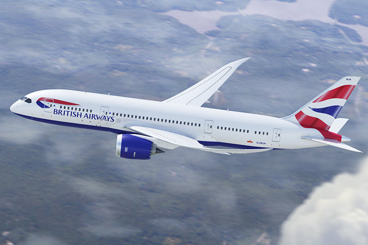 Boeing Dreamliner 787-9 British Airways