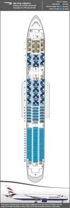 seatmap boeing 787-9 british airways