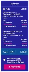 Bucuresti Barcelona Reducere Wizz Air