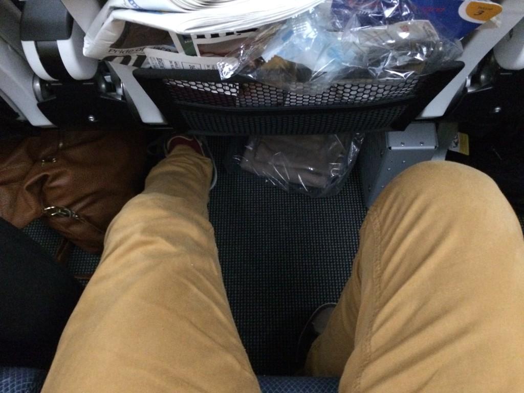 Spațiu arhisuficient la picioare