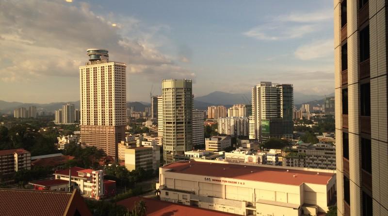 Vederea de pe Hotel San Seri Pacific