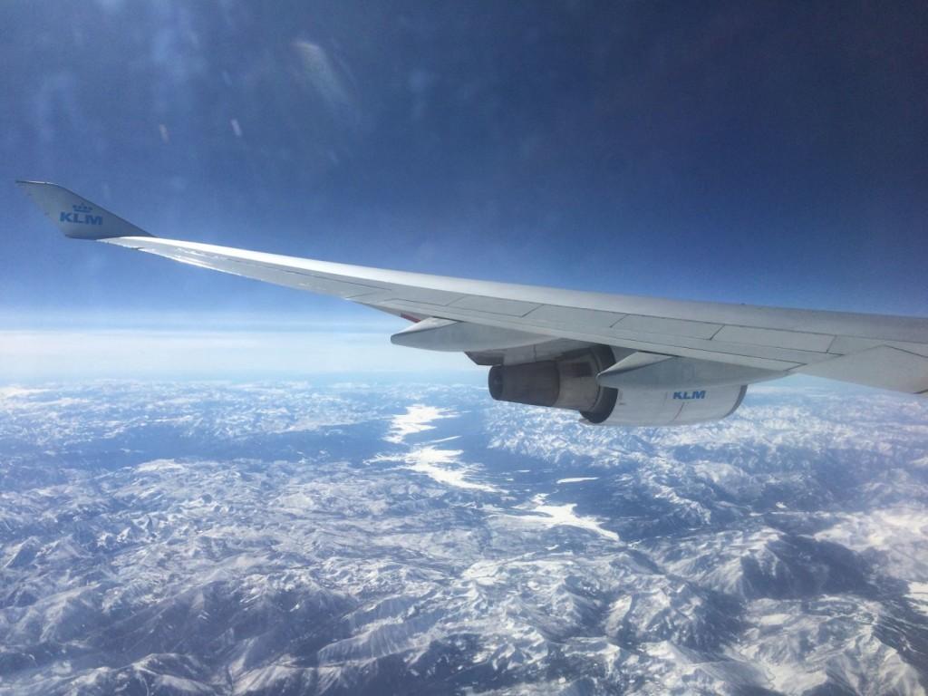 Rocky Mountains din avion