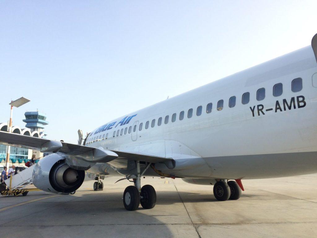 YR-AMB Blue Air Boeing 737-500