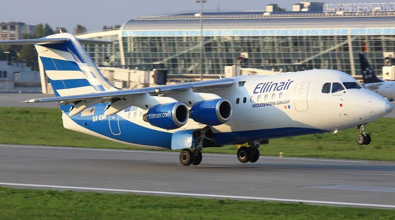 British Aerospace AVRO 146-RJ85 Ellinair