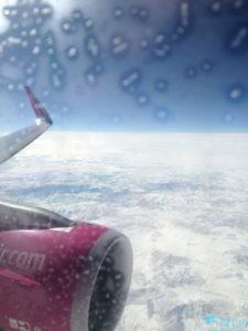 Deasupra Turciei cu Wizz Air pe zborul de întoarecere de la Tel Aviv