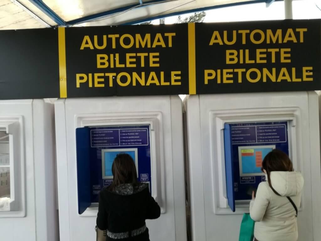 Automat bilete Romexpo