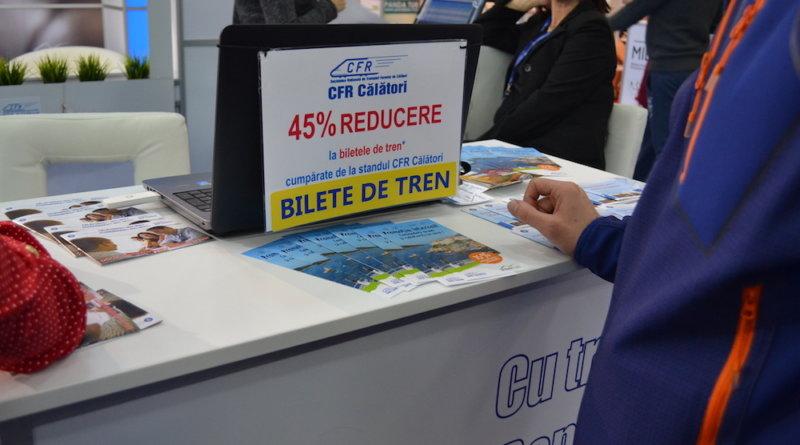 Reducere specială CFR Călători la târg