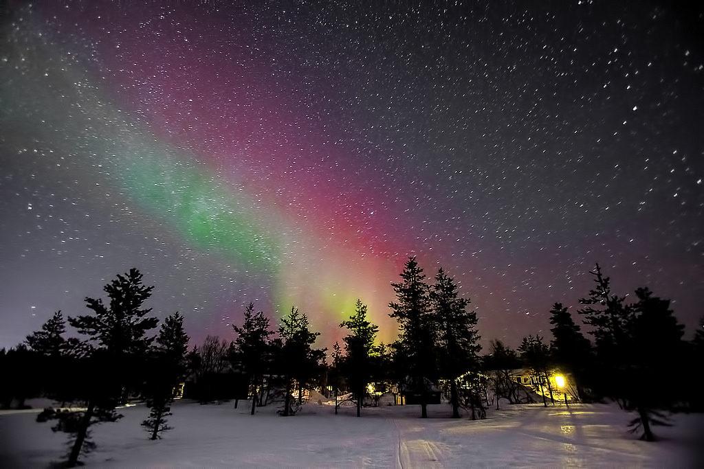 aurora boreala finlanda