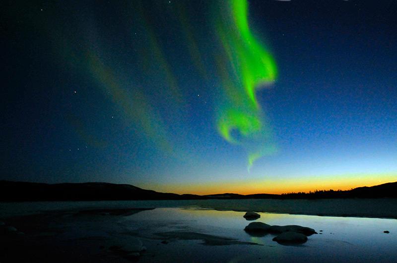 aurora boreala suedia