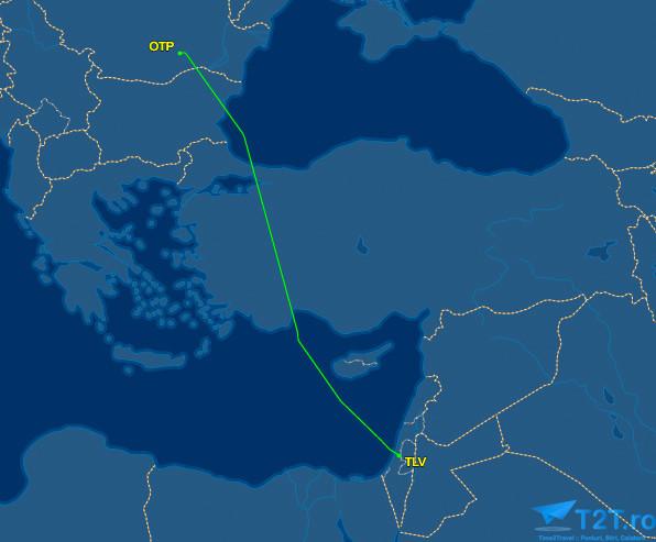 Rută București - Tel Aviv Wizz Air