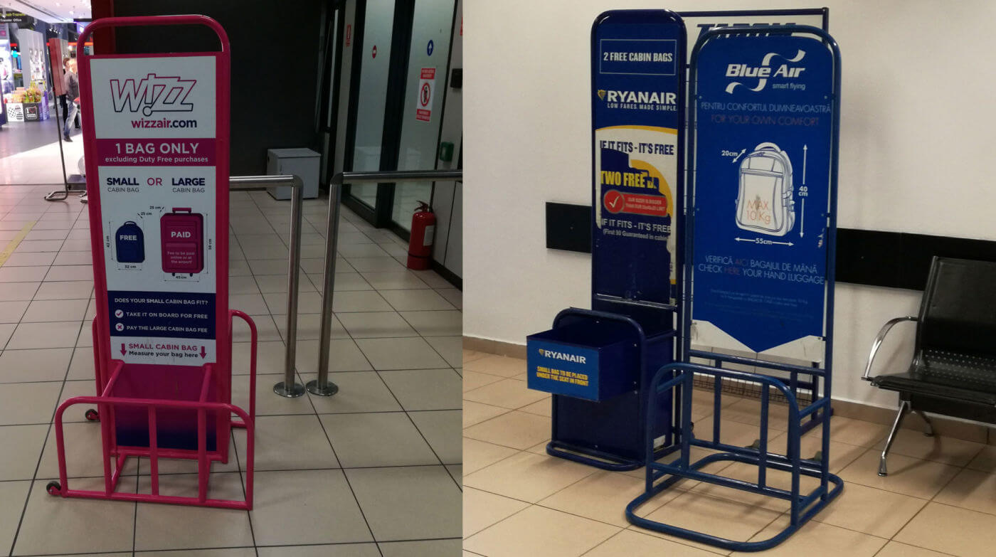 Politică Bagaje De Mână Ryanair și Wizz Air