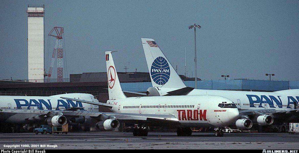 Boeing 707 TAROM la New York
