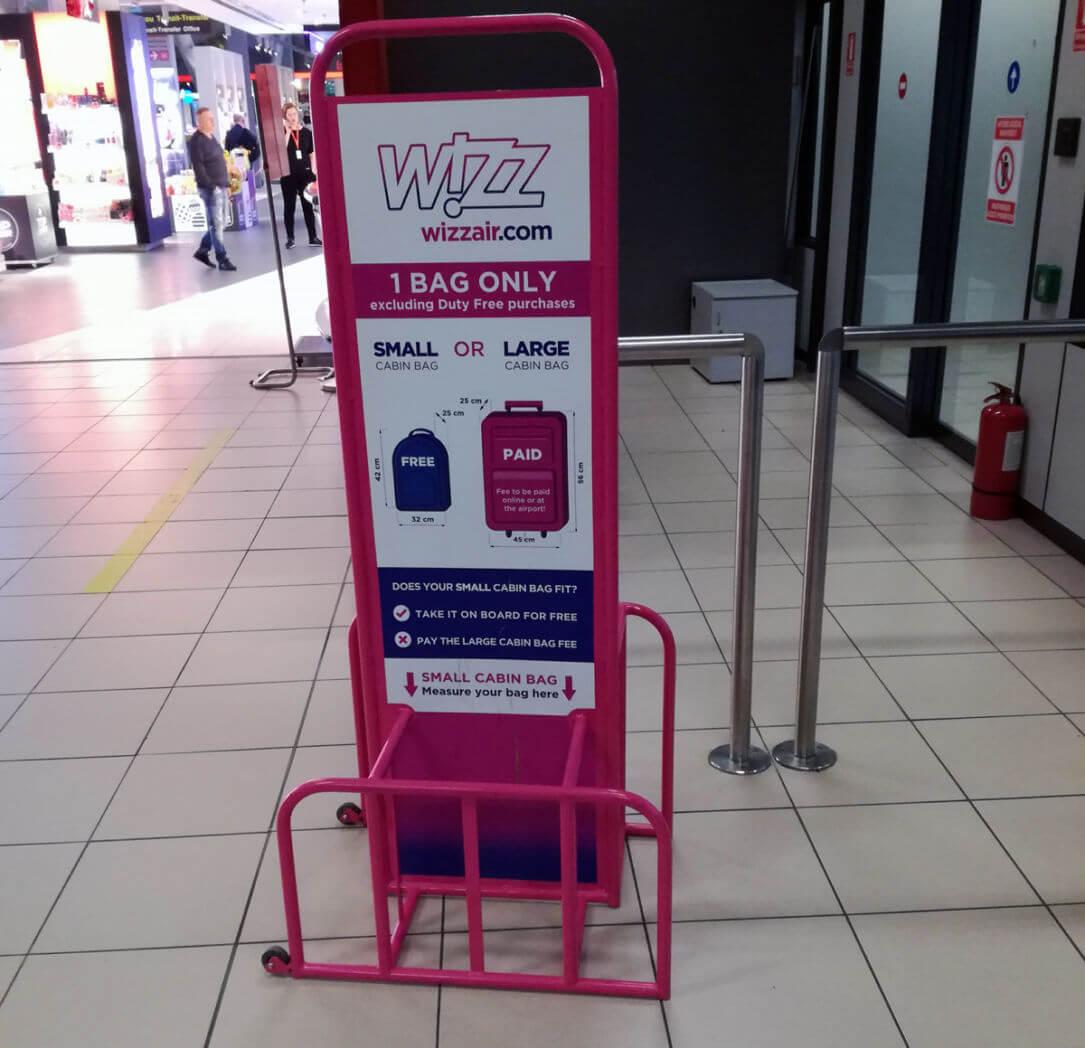 Bagaje Mana Wizz Air T2tro