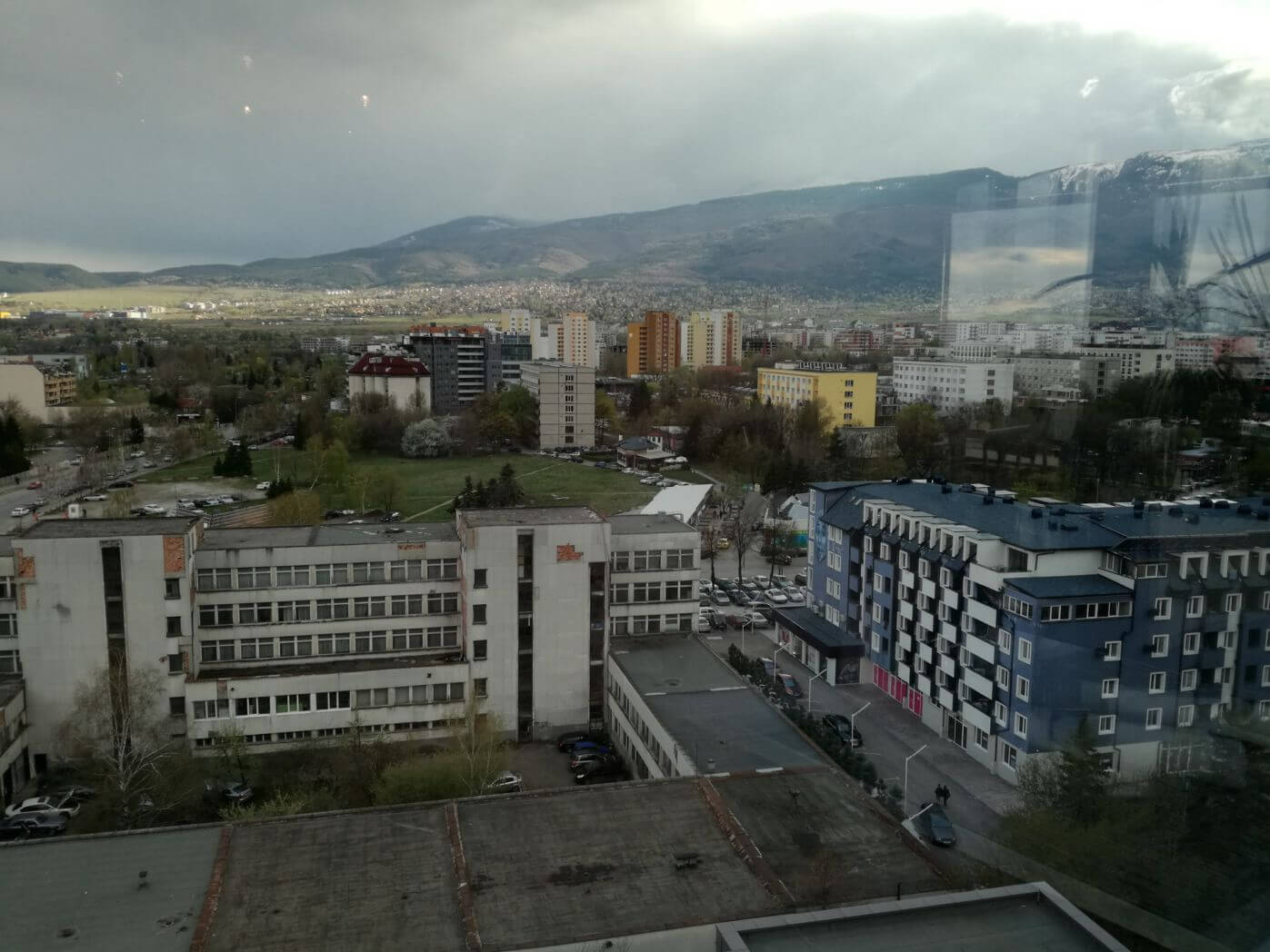 Priveliște spre muntele Vitosha Suite Hotel Sofia