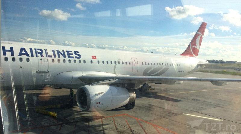 Îmbarcarea la Copenhaga - Turkish Airlines Airbus A321