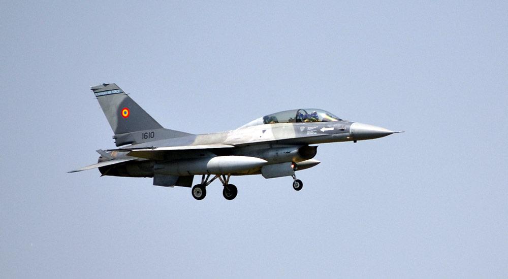 F16 Forțele Aeriene Române la BIAS 2017