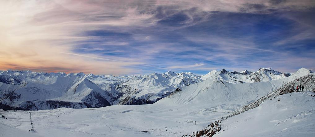 Gudauri, Georgia - Panorama