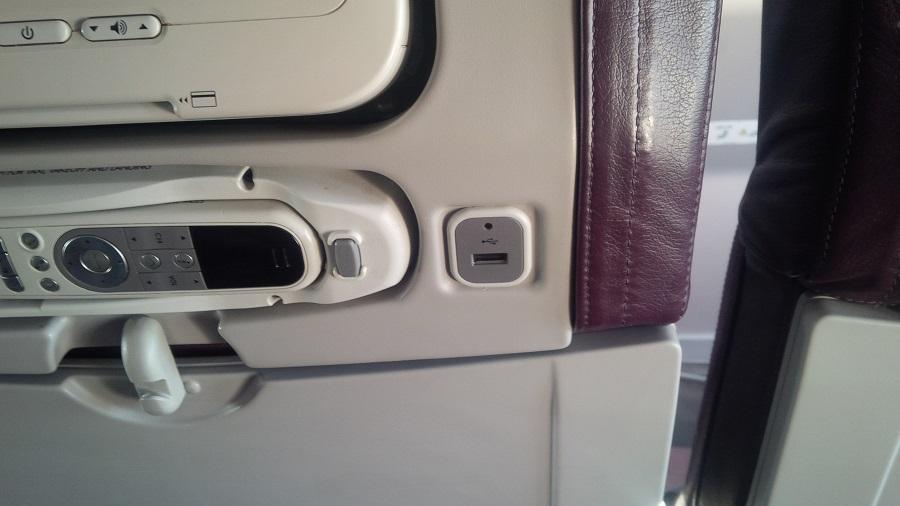 Noile avioane vin dotate cu port USB în scaunele pasagerilor