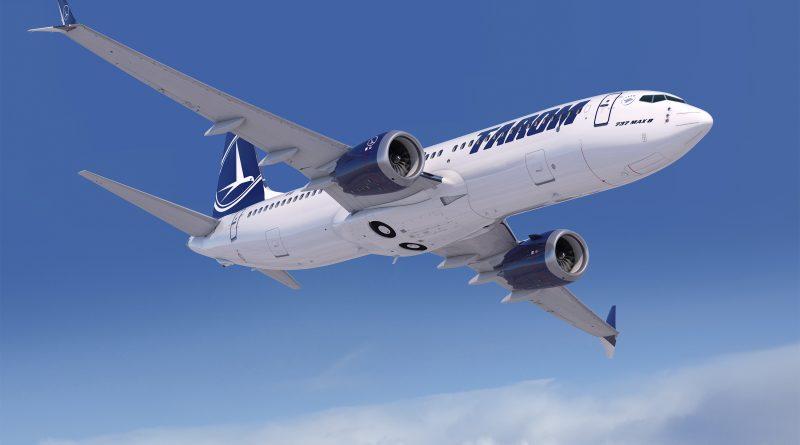Boeing 737 MAX 8 TAROM - Randare
