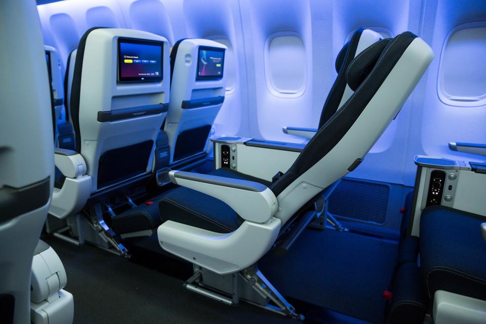 Actualele scaune Premium Economy de la British Airways