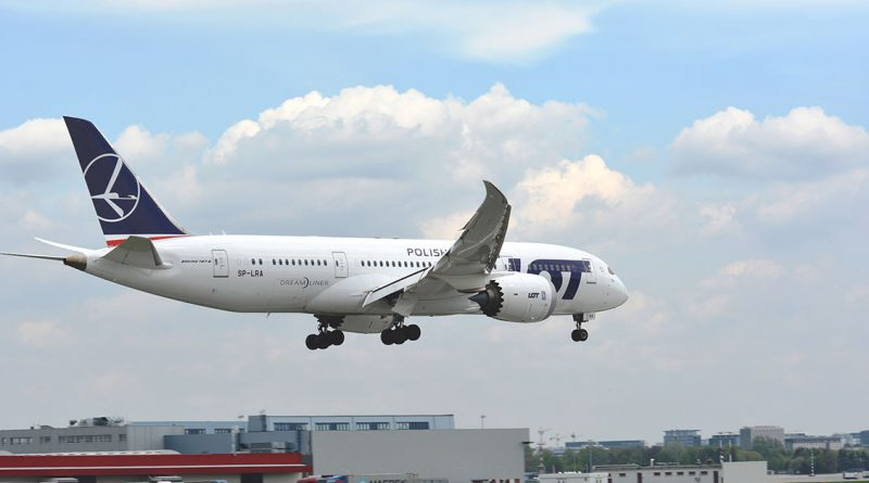 LOT Polish Airlines Boeing 787-8 Dreamliner SP-LRA