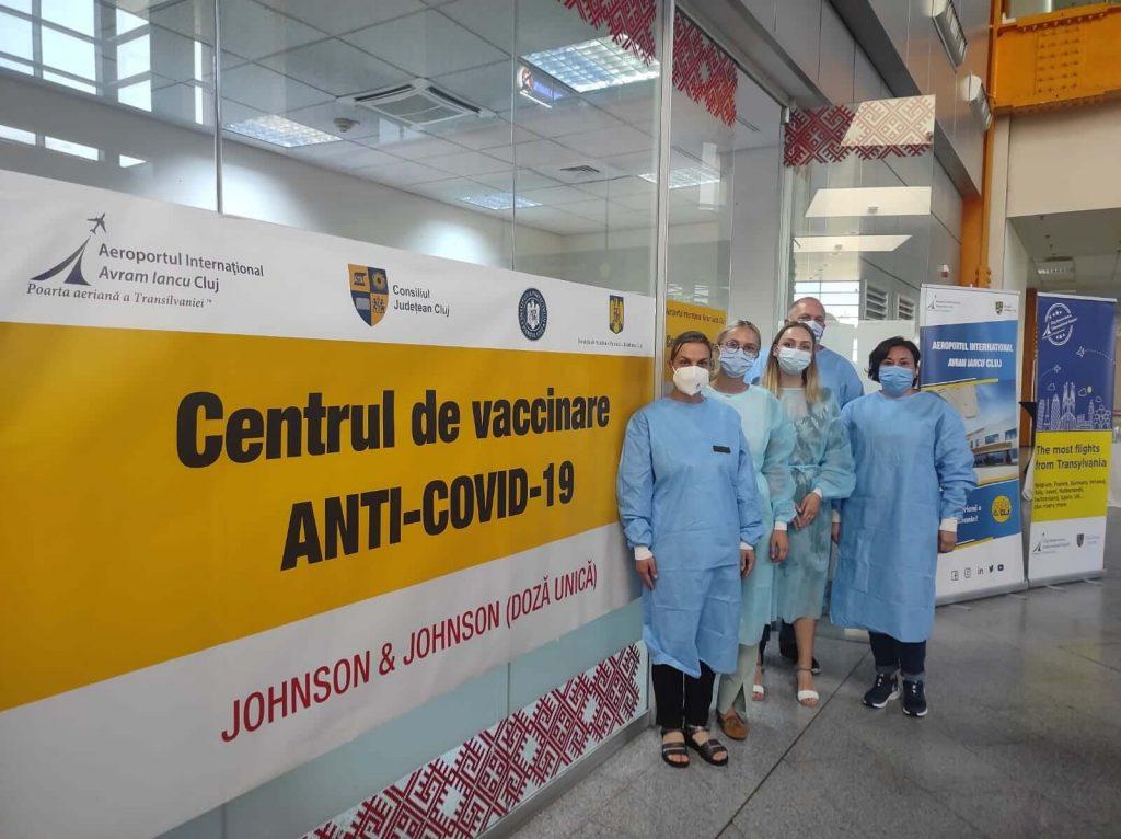 Centrul de vaccinare Anti COVID-19 deschis pe Aeroportul Cluj Napoca